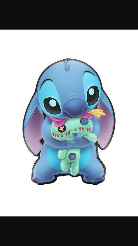 Stitch Et Son Doudou En 2019 Dessin Stitch Dessins Disney