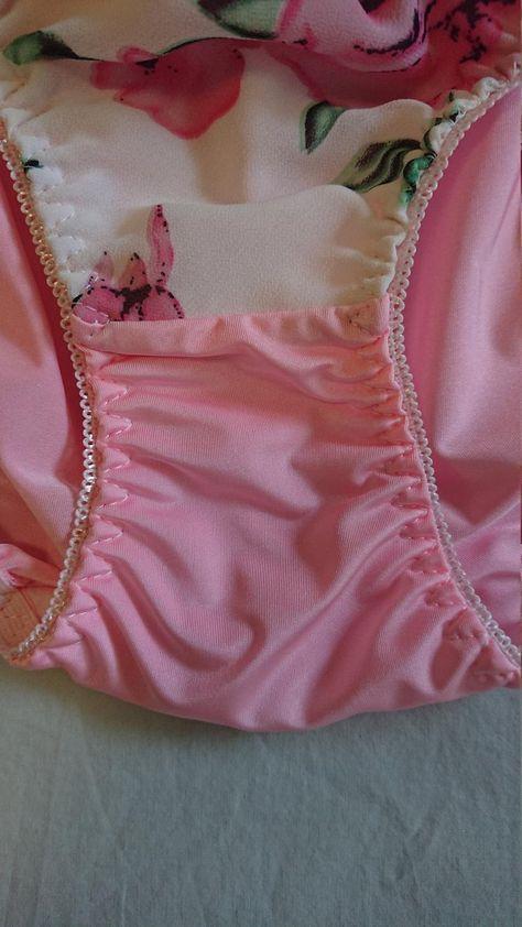 Floral Lace Trim Open Corset Back Panties Briefs Women/'s Lingerie Underwear M-3X