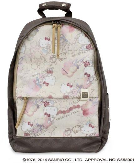 ハローキティ × クリスタルボール Always With You サンミッシェル   Hello Kitty x Crystal Ball  backpack on ShopStye 9601c8380b39e