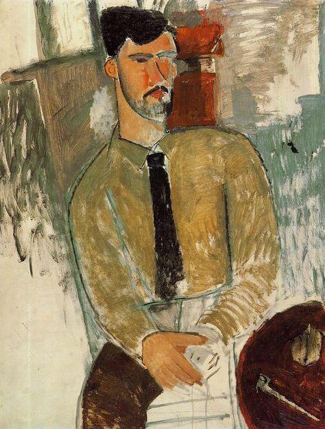 PABLO : Amedeo Modigliani (Italian, 1884-1920), Portrait o...