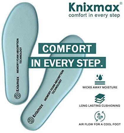 Knixmax Plantillas Memory Foam Para Zapatos Memory Foam Estilo De Zapatos Delgadez