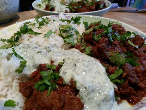 Slimming World Delights Slow Cooked Lamb Curry Indian