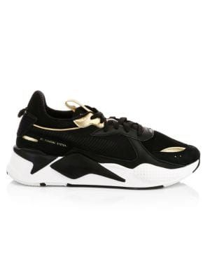 PUMA RS-X Trophy Mesh & Leather Sneakers. #puma #shoes ...