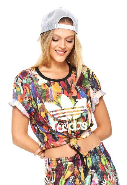 adidas Originals X The FARM Company Women/'s Tank Dress Summer Multi Colour