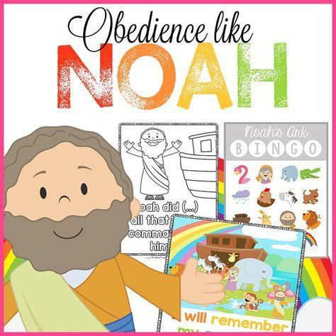 Noah S Ark Bible Printables Noahs Ark Preschool Preschool Bible Lessons Christian Preschool Curriculum