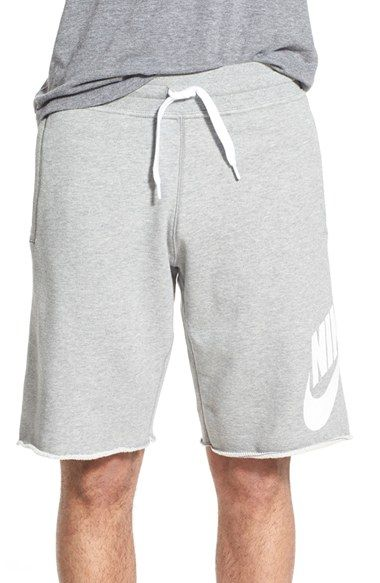 Nike 'AW77 Alumni' French Terry Knit Shorts | Ropa