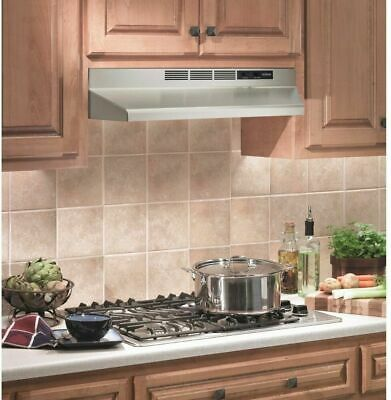 Details About Nutone 30in Kitchen Non Vented Ductless Under Cabinet Range Hood Stainless Steel In 2020 With Images Stainless Steel Kitchen Faucet Kitchen Faucets Pull Down Stainless Range Hood