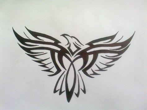 Tattoo Neck Eagle Posts 19 Ideas Tribal Eagle Tattoo Tribal Tattoos Eagle Tattoo