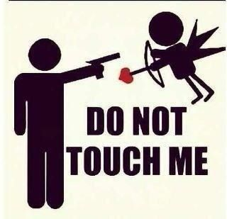 Großartig Please Cupid, Stay Away From Me   Happy Valentineu0027s Day | Funny | Pinterest  | Cupid