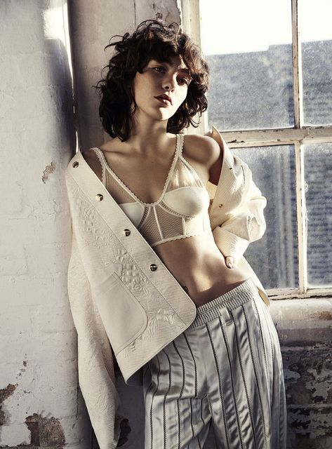 steffy argelich by marcus ohlsson for the telegraph luxury february 2016 | visual optimism; fashion editorials, shows, campaigns & more!