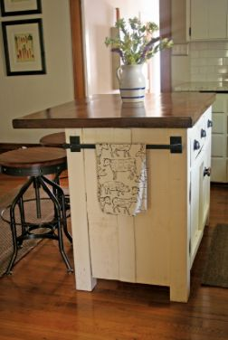 Kitchen Island Hand Towel Rack For The Home Pinterest Towels