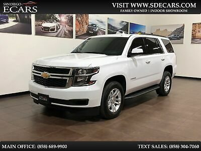 Ebay Advertisement 2018 Chevrolet Tahoe Ls 2018 White Ls In 2020