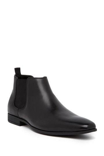Logan Leather Ankle Boot
