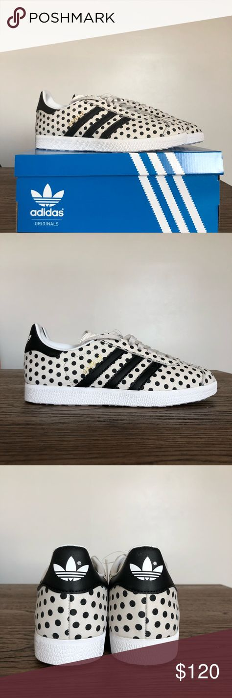 on sale 1b0ec 2d265 Adidas X The FARM Gazelle Polka Dot  US 6 Brand new sneakers, never worn