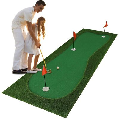 Ad Ebay Luricaa Golf Putting Green Mat For Indoor Outdoor