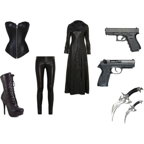"""""""selene from underworld inspired"""" by punk-jay on Polyvore"""