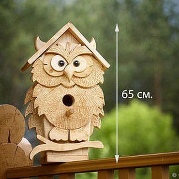 скворечник сова скворечники домики для птиц садовые