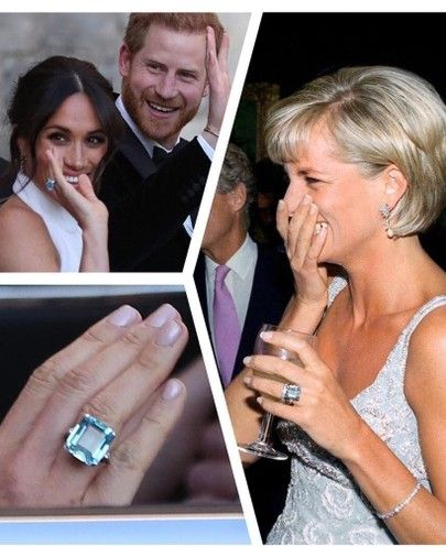 meghan markle aquamarine diana ring princess diana princess diana ring princess diana family meghan markle aquamarine diana ring