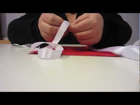 Come Fare Una Rosa Con Un Nastro Tutorial 2 Youtube Rosa Fatta