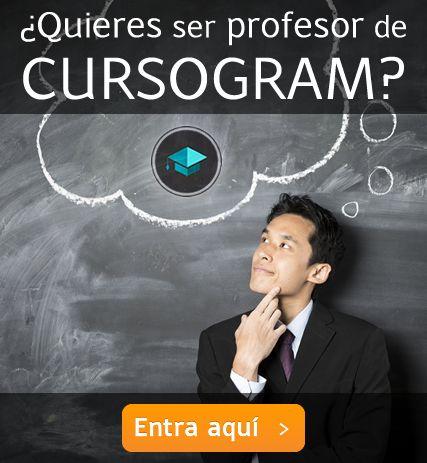 Quieres ser profesor en Cursogram