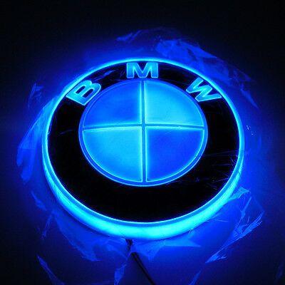 4d Car Led Logo Light Auto Badge Rear Emblems Lamp For Bmw 1357series X1x3x4x5x6 Bmw Logo Led Logo Bmw