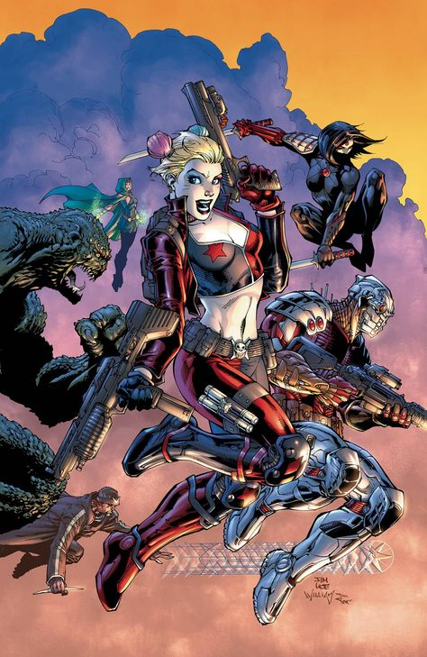 Suicide Squad felt just like Suicide Squad with the Rebirth debut a month ago…