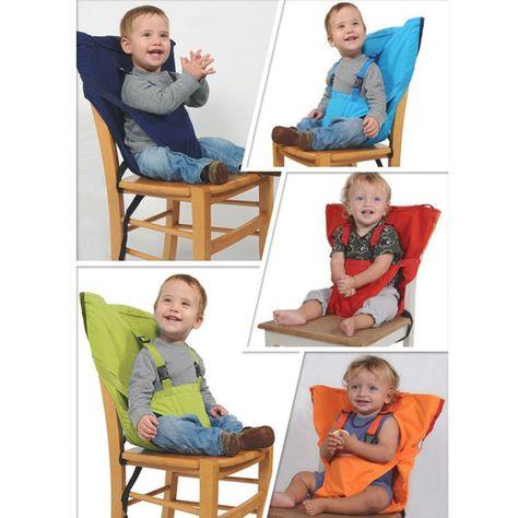 1 قطعة المحمولة للجنسين طفل بنين بنات كرسي حزام الأمان للطي كليب