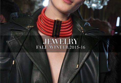 F/W 15-16 Jewelry Trend Report - Accessories Magazine