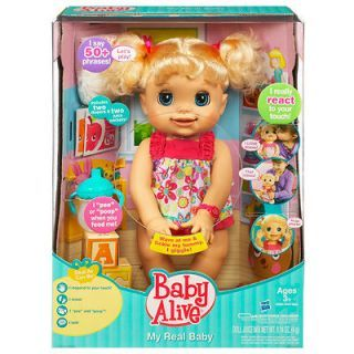 2008 Hasbro Baby Alive Learns To Potty Doll Eats Talks On Popscreen In 2020 Baby Alive Hasbro Dolls