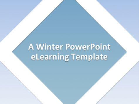 Fall in Love with the PowerPoint Templates Released in February 2015 - winter powerpoint template