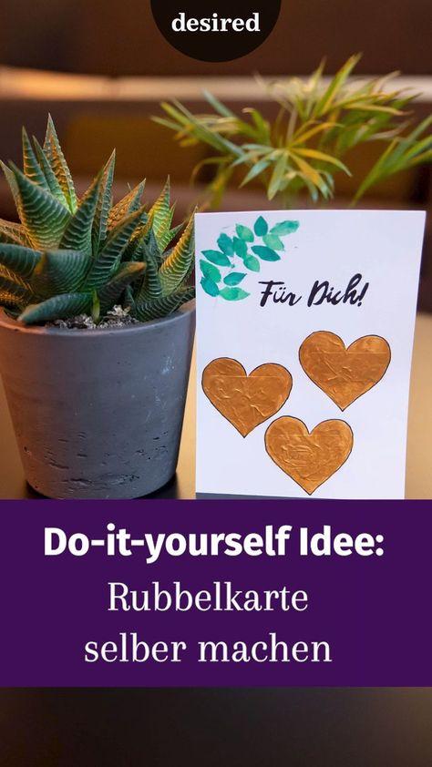 Am 14. Februar ist Valentinstag. Egal, ob man den Tag mag oder nicht: Die meisten überraschen ihren Partner doch wenigstens mit einer Kleinigkeit. Am Tag der Liebe ist es schließlich auch viel wichtiger, dass das Geschenk von Herzen kommt, oder? Wenn du dieses Jahr dein Valentinstag-Geschenk selber machen willst, haben wir hier die passenden Inspirationen und Geschenkideen für dich!  #DIY #valentinsgeschenk #kartebasteln #geschenkideen #rubbelkarte #basteltutorial