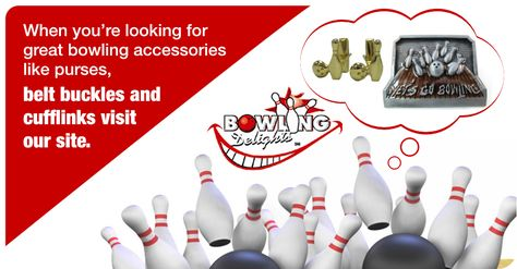 When You Re Looking For Great Bowling Accessories Like Purses Belt Buckles And Cufflinks Visit Our Site Bowli Bowling Gifts Bowling Accessories Bowling