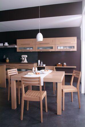 Chaise Clipper Table Dehli Cuisinella Chaise De Cuisine