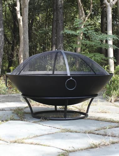 Backyard Creations 43 Caldera Steel Cauldron Fire Pit Outdoor Fire Pit Steel Fire Pit Wood Burning Fire Pit