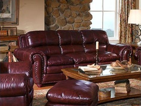 Acapulco Leather Sofa With Images