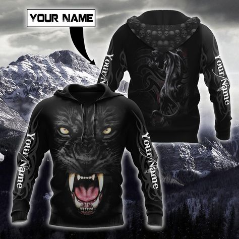 Customize Name Black Panther Hoodie For Men And Women DQB05052101 - Hoodie / M