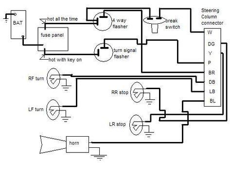 Gm Turn Signal Wiring