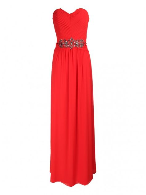 Embellished Bandeau Maxi Dress Jane Norman Dresses Prom