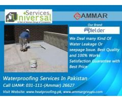 Universal Services Provides Every Type Of Leakage Solution Water Proofing Services In Pakistan Roof Waterproofing Chemical Pakistan