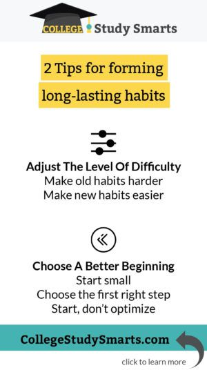 Most Important Habits Of Successful College Students College Study Smarts Study Smarter College Study School Study Tips