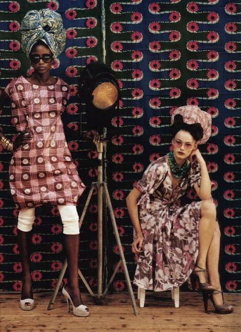 Pattern On Pattern Inspiration From Stella Jean and Tata Naka - AphroChic