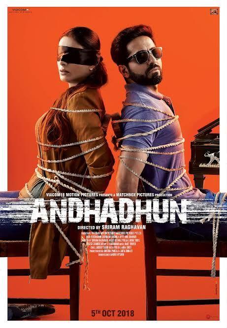 അന ധ ധ ൻ Andhadhun 2018 Good Movies Club Hindi Movies Download Movies Bollywood Movies