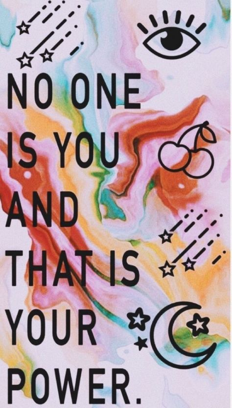 No one is you and that is your power | #girlboss #inspirationalquotes #motivationalquotes