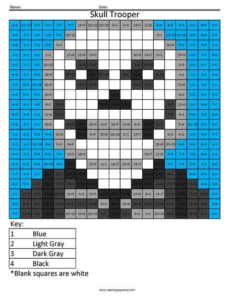 Fortnite Division Coloring Coloring Squared Color Graphing Pixel Art Hama Beads Design