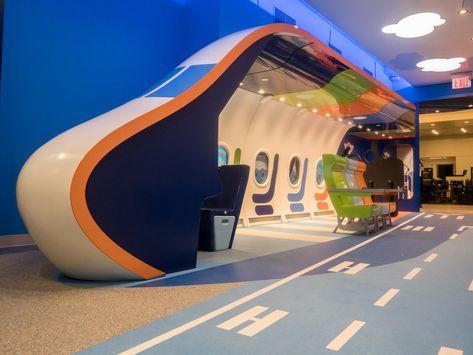 Jetblue Children's Play Area — IBEX Innovation