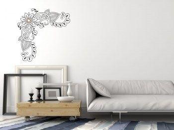 Wandtattoo Ornament Aufkleber Miandra Wohntime Pinterest