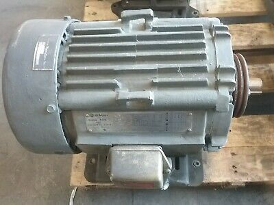 Details About Ge 10 Hp 3 Phase Electric Motor 5ks215se205d8 1765 Rpm 215t Cat 9148e 90taw Electric Motor Electricity 10 Things