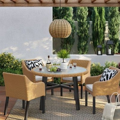 28++ Target threshold patio dining set Various Types