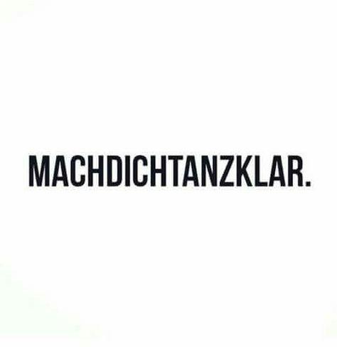Machdichtanzklar. #freitag