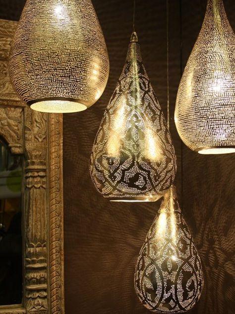 Morocco Lamp Lustre De Salle De Bain Lampe Marocaine Deco